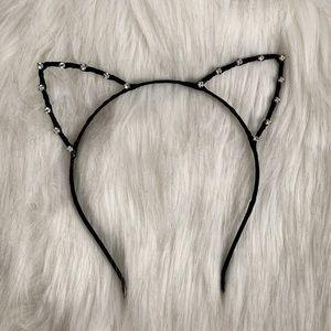NWOT Urban Outfitters Rhinestone Cat Headband